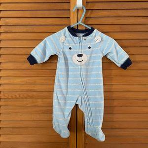 Carters Bear Fleece Bodysuit